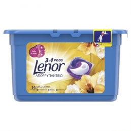 LENOR PODS 3IN1 GOLD ORCHID 14ΤΜΧ