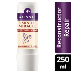 Aussie 3 Minute Miracle Reconstructor Εντατική Μάσκα 250ml