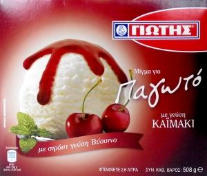 Γιώτης Μίγμα για παγωτό Καϊμάκι 485gr