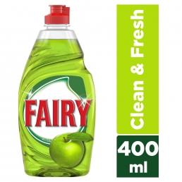 Fairy Clean & Fresh με άρωμα Μήλου υγρό πιάτων 400ml
