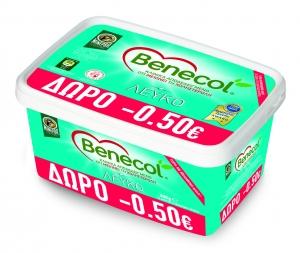 Μινέρβα Benecol Λευκό Τυρί 300gr Έκπτωση -0,50€