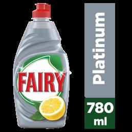 Fairy Υγρό Πιάτων Platinum Λεμόνι 780ml