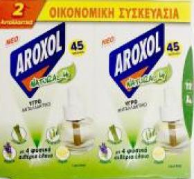 AROXOL ΥΓΡΟ ΑΝΤ/ΚΟ  NATURAL FOUR 22,5MLx2