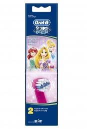 2 Ανταλλακτικές Κεφαλές Βουρτσίσματος Oral-B Stages Power Princess Kids