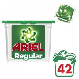 Υγρές Κάψουλες Ariel - 42 κάψουλες