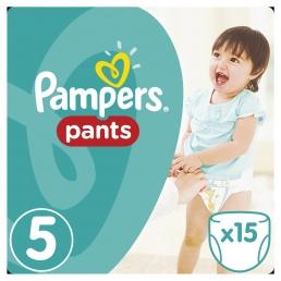 Pampers Pants Μέγεθος 5 (11-18kg), 15 Πάνες-βρακάκι cp