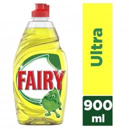 Fairy Υγρό Πιάτων Λεμόνι 900ml