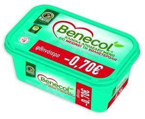 ΜΙΝΕΡΒΑ BENECOL SPREAD 12x250GR -0,70€(Ψ)