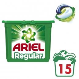 Κάψουλες Ariel Pods 3σε1 - 15 Κάψουλες