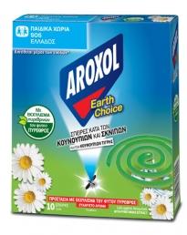 AROXOL ΕΑRTH CHOICE ΠΥΡΕΘΡΙΝΗ ΣΠΙΡΑΛ 10ΤΜΧ