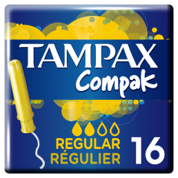 TAMPAX COMPAK REGULAR 6X16