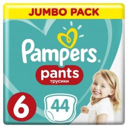 Pampers Pants Μέγεθος 6 (15+kg), 44 Πάνες-βρακάκι