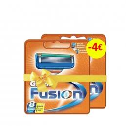 GILLETE FUSION ΑΝΤΑΛΛΑΚΤΙΚΑ ΞΥΡΑΦΑΚΙΑ 8ΤMX (1+1 -4€)