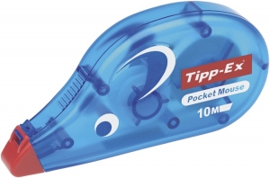BIC ΔΙΟΡΘ. ΤΑΙΝΙΑ TIPPEX  POCKET MOUSE 10m ΒΧ/10 WRAPPED
