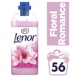 Lenor Μαλακτικό Ρούχων Floral Romance 1.4L (56 μεζούρες)