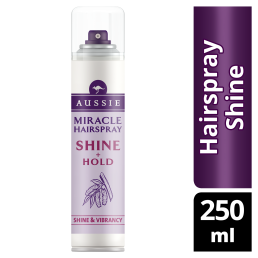Aussie Miracle Hairspray Shine + Hold 250ml