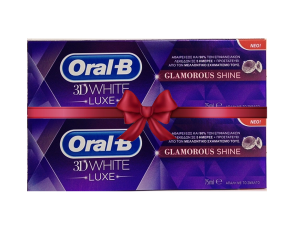 ORAL-B 3D WHITE LUXE GLAMOUR SHINE 75 ML (1+1 Δώρο)