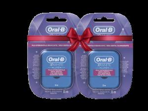 ORAL-B ΟΔΟΝΤΙΚΟ ΝΗΜΑ 3D WHITE 35M (1+1 Δώρο)