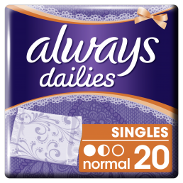 Always Σερβιετάκια Alldays Normal Ατομική Συσκευασία (20τεμ)