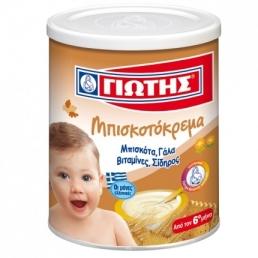 ΜΠΙΣΚΟΤΟΚΡΕΜΑ ΓΙΩΤΗΣ 300ΓΡ (12 TMX)