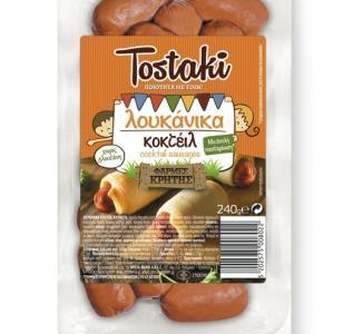 CRETA FARMS TOSTAKI ΛΟΥΚΑΝΙΚΑ ΚΟΚΤΕΙΛ 240gr