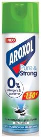 AROXOL ΚΑΤΣ/ΝΟ PURE & STRONG 24x300ML -1,50€