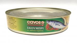 CAVOS ΣΚΟΥΜΠΡΙ ΣΕ ΣΑΛΤΣΑ (OVAL) 48x215gr