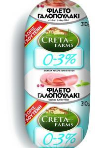 CRETA FARMS 0-3% ΦΙΛΕΤΟ ΓΑΛΟΠΟΥΛΑΚΙ 310gr