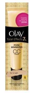 Olay Total Effects 7in1 Αντιγηραντική Κρέμα Λάμψης / Μείωσης Πόρων CC light SPF15 50ml