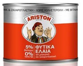 Αriston Bούτυρο 5% Φυτικά Έλαια 400gr