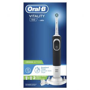 ORAL-B VITALITY CROSS ACT BLACK HBOX 6X1