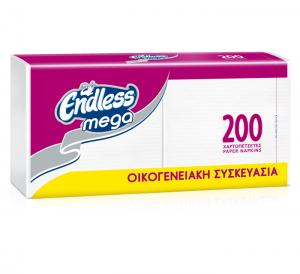 ENDLESS Χ/Π MEGA 2PACK ΛΕΥΚΗ 16 Χ 200Φ.