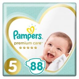 Pampers Premium Care Μέγεθος 5 (11-18kg), 88 Πάνες