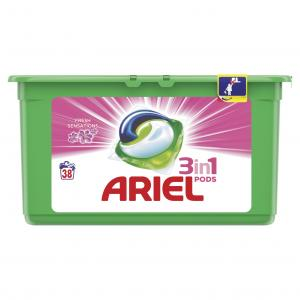 ARIEL PODS 3in1 FRESH SENS PINK 3X38TMX
