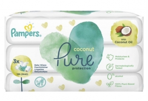 PAMPERS WIPES PURE COCONUT 6X3X42