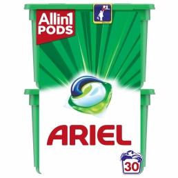 Ariel Allin1 PODs Mountain Spring Κάψουλες Πλυντηρίου - 30 Κάψουλες (15+15 δώρο)