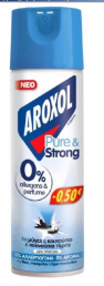 AROXOL ΕΝΤ/ΝΟ PURE & STRONG 300ML -0,50€