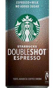 STARBUCKS DOUBLESHOT NO ADD.SUGAR 200ML