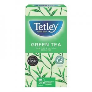 TETLEY GREEN TEA 6(x25x2g) (ΦΑΚ ΜΕ ΣΧΟΙΝΑΚΙ)