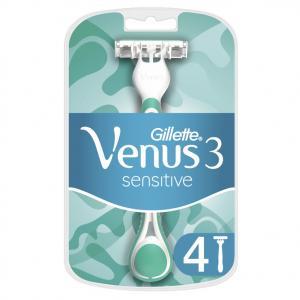 GILLETTE VENUS3 BLUE SENS. ΜΙΑΣ ΧΡΗΣΗΣ 4ΤΜΧ