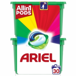 Ariel Allin1 PODs Color Κάψουλες Πλυντηρίου - 30 Κάψουλες (15+15 δώρο)
