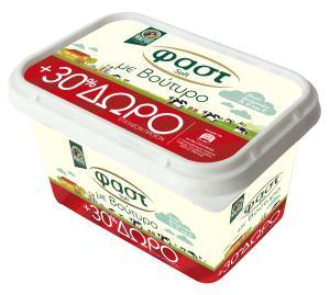 Μινέρβα Fast Soft με Βούτυρο 250gr +30% Προϊόν Δωρεάν