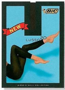 BIC ΚΟΛΑΝ LUSSO 20 ΜΑΥΡΟ ONE SIZE