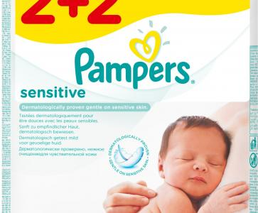 PAMPERS WIPES SENS ΑΝΤ/ΚΟ 3X4Χ56 (2+2Δ)