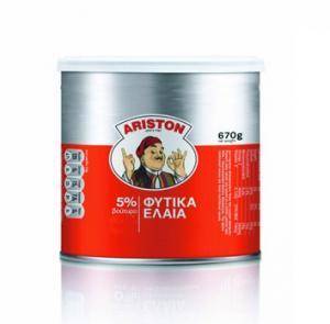 ARISTON ΒΟΥΤΥΡΟ 5% ΦΥΤ. ΕΛΑΙΑ 670gr