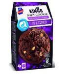 KINGS SOFT COOKIE TRIPLE CHOCO 10X180g