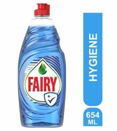 Fairy Platinum Υγρό Πιάτων Hygiene - 654ml