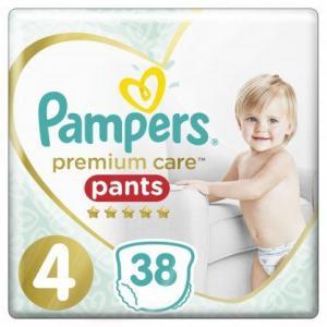 Pampers Premium Care Pants Μέγεθος 4 (9-15 kg), 38 Πάνες