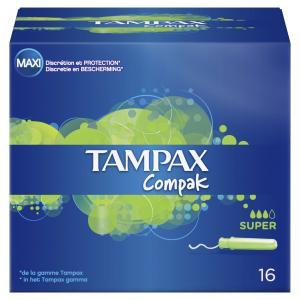 TAMPAX COMPAK SUPER 12X16