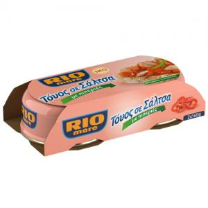 Rio Mare Τόνος σε σάλτσα με πιπεριές 2x160gr